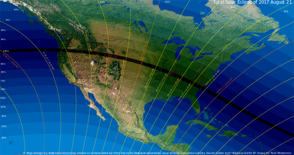 Total solar eclipse Aug 21